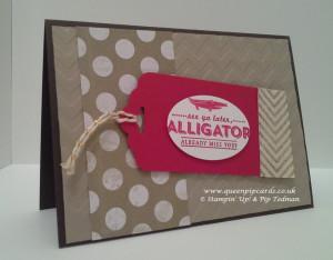 Sale-a-bration image Alligator