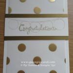 Gold Congratulations
