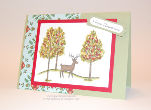 Card - Retirement Stag