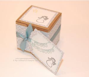 Teeny Tiny Boxes Snowman