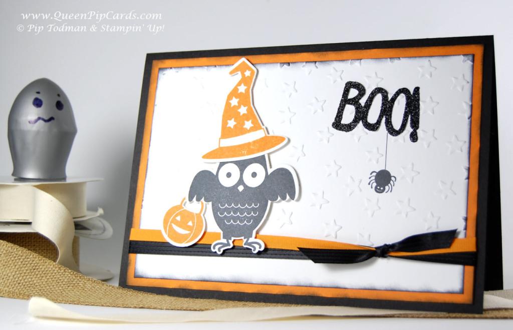 Autumn Sneak Peek Halloween Card 1