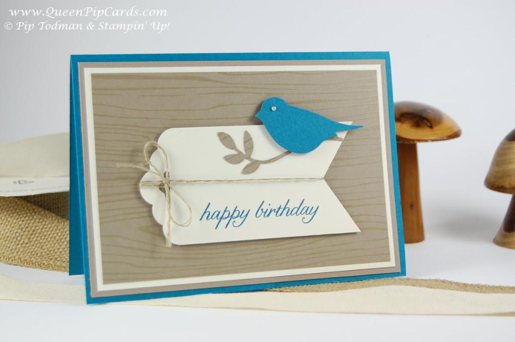 Bird Tag Card 2