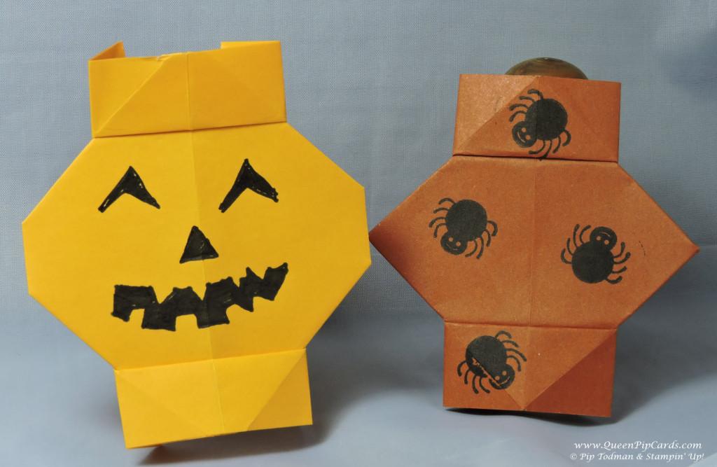 Origami Folded Lanterns