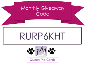 QPC Monthly Giveaway Logo - 1601