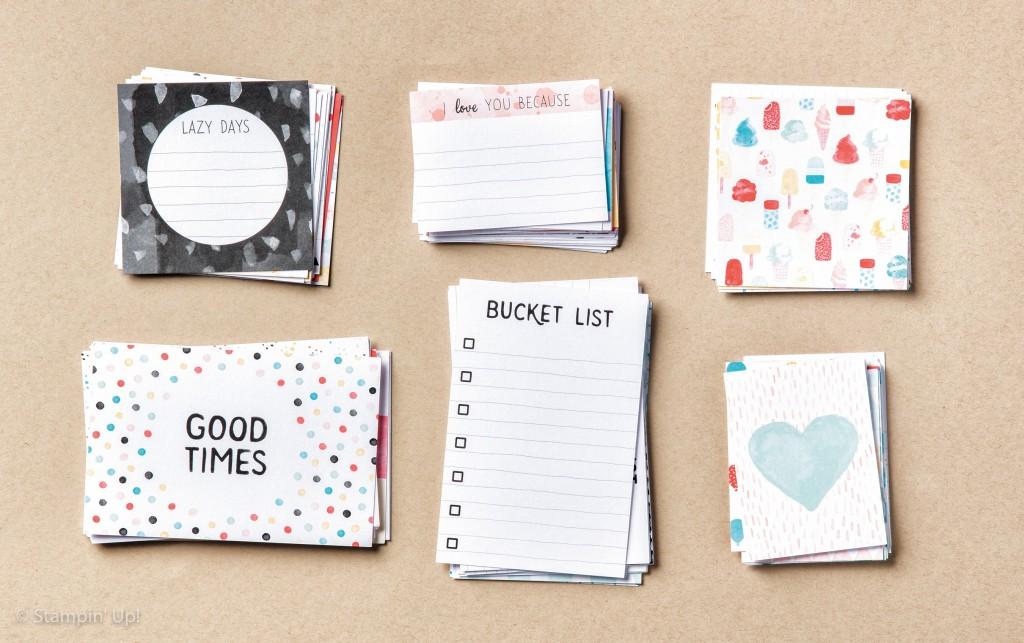 140573 Memories in the making card kit