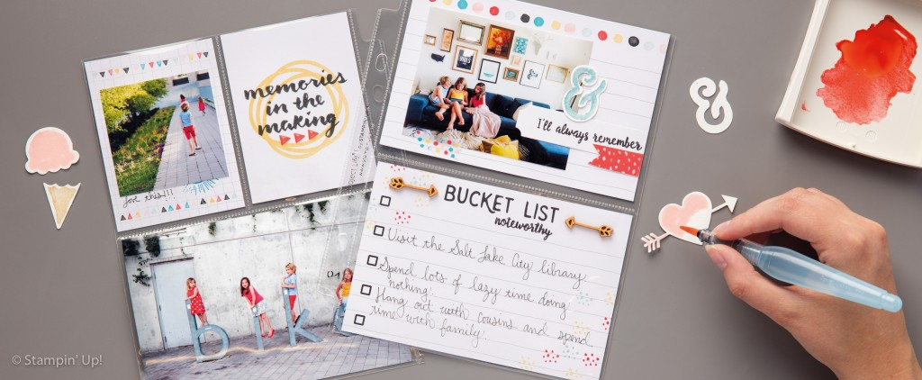 Memories in the Making accessorry kit