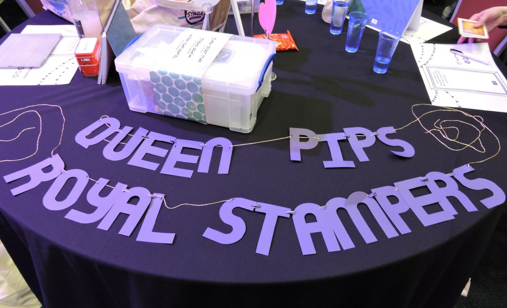 Queen Pips Royal Stampers Banner