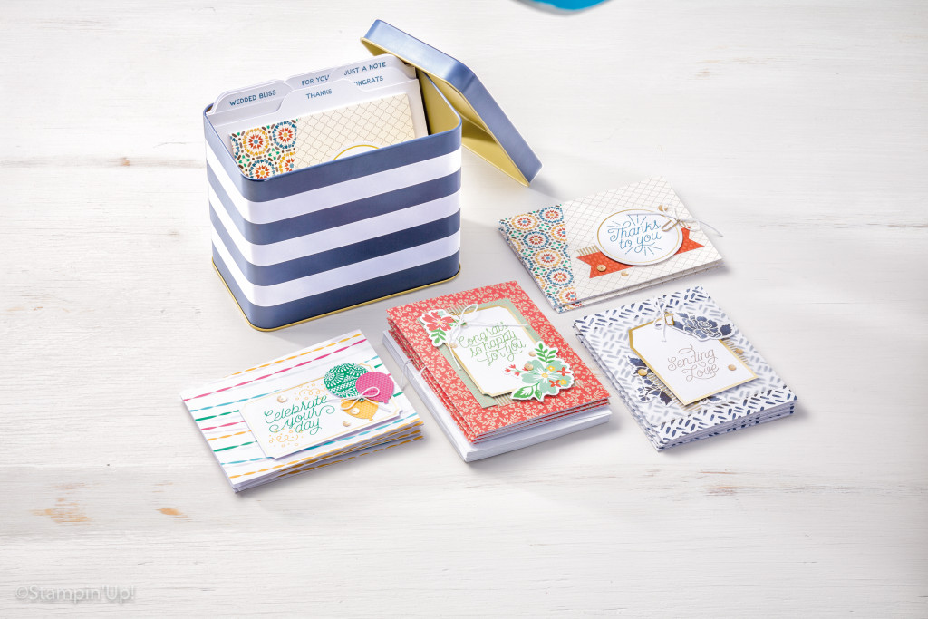 Cool for Kits Designer Tin of Cards