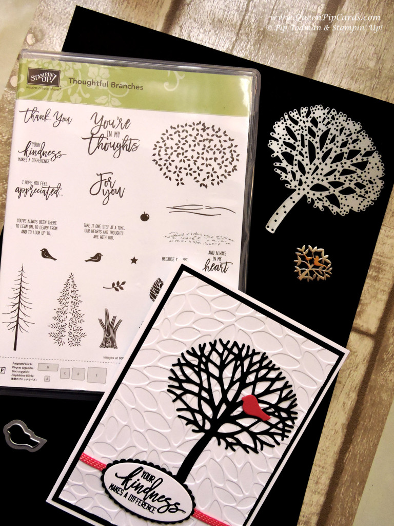 Card Inspiration with Thoughtful Branches Bundle