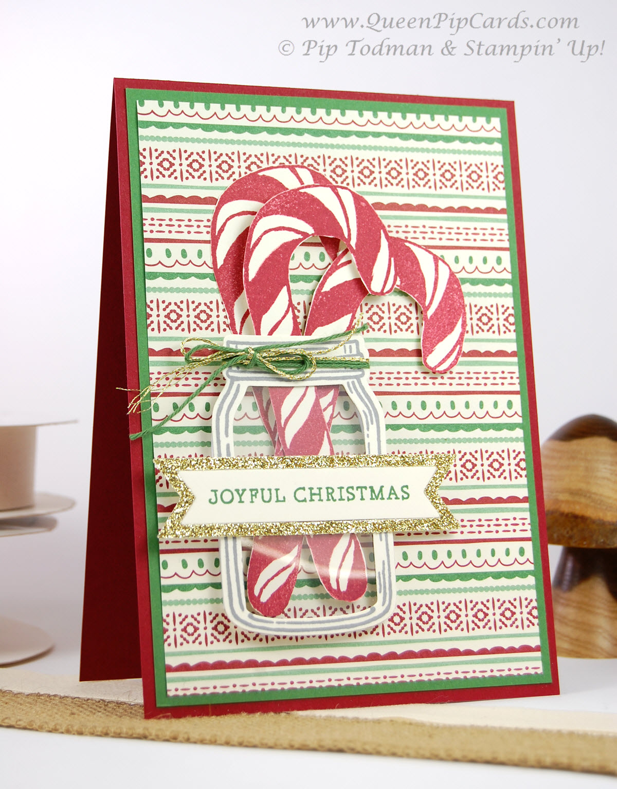 Stampin creative christmas card ideas blog hop queen pip cards christmas card ideas banners for christmas 4 p m4hsunfo Gallery
