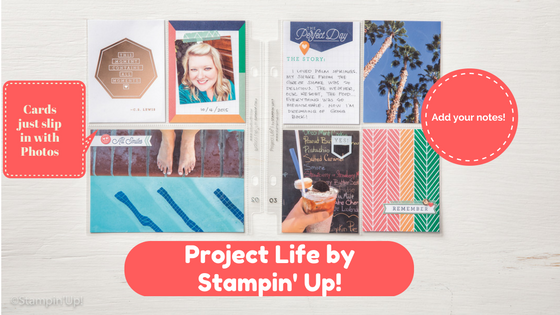 Project Life by Stampin' Up! Scrapbooking