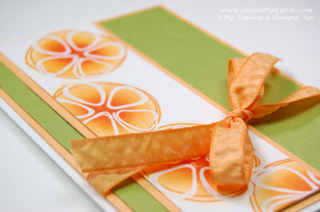 Stamping with Fresh Fruit Resist Embossing sm
