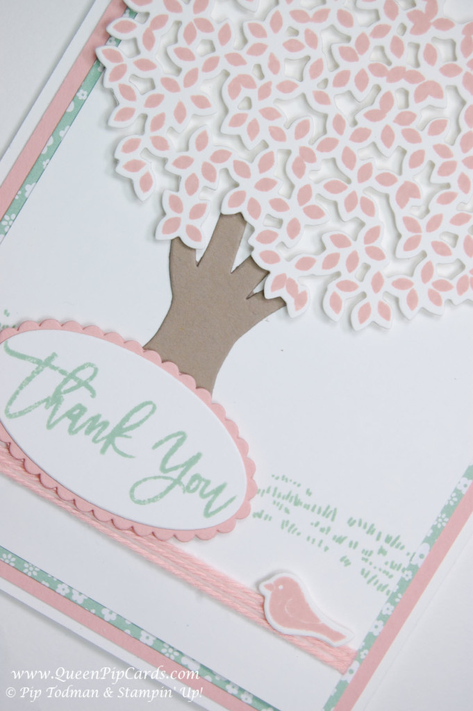 Stampin' Up! Thoughtful Branches Pink Blossom Tree