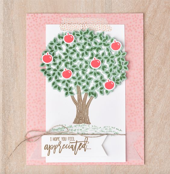 4 card ideas with Thoughtful Branches 1