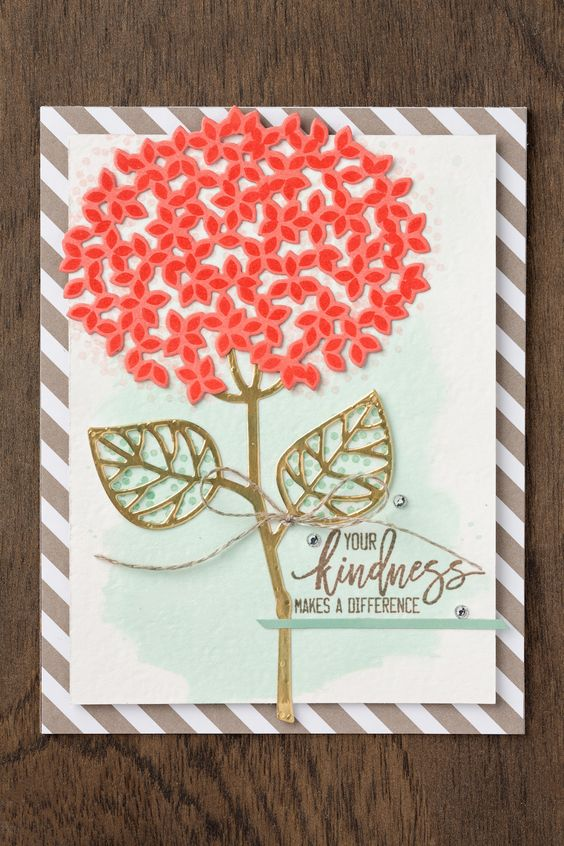 4 card ideas with Thoughtful Branches 6
