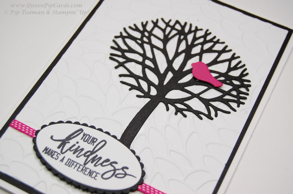 Card Inspiration Thoughtful Branches Card flat