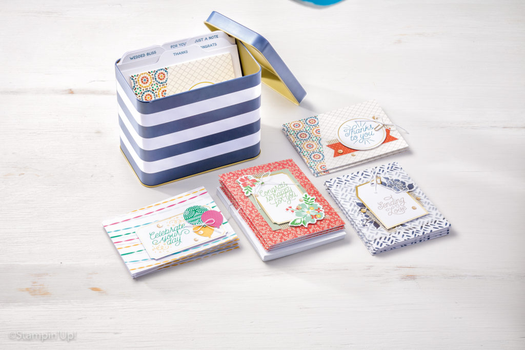 2 ways to earn free crafting supplies Designer Tin of Cards World Card Making Day Offers