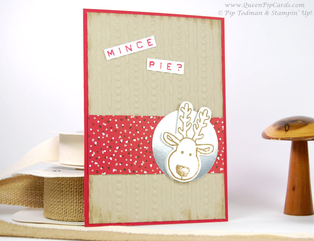 Cute Christmas Card Idea Reindeer Lge