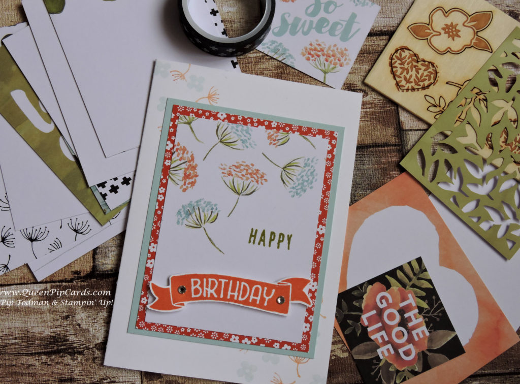 Not Just for Scrapbooking Happy Birthday 2