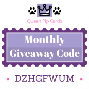 Monthly Giveaway Code (1609)