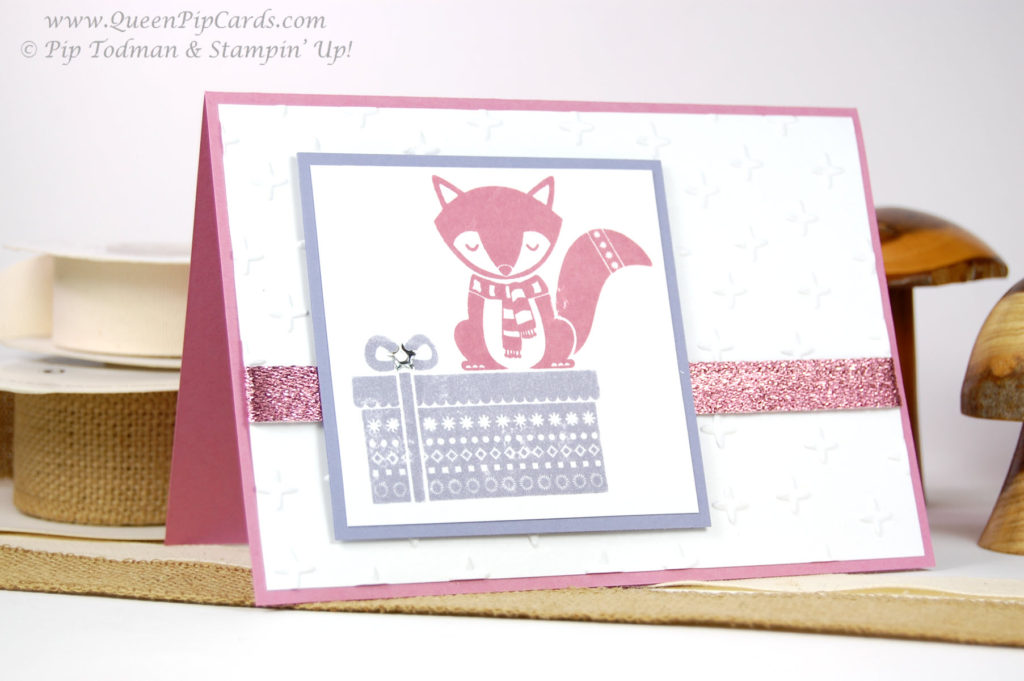 Cozy Critters Card Idea