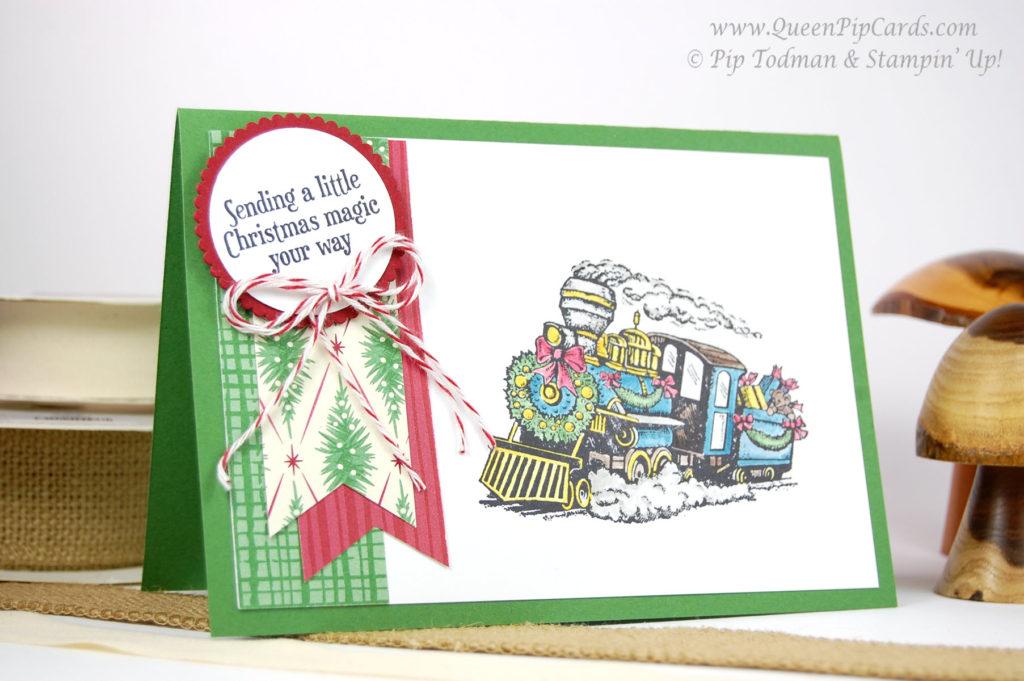 Spectacular Christmas Craft Retreat Train large