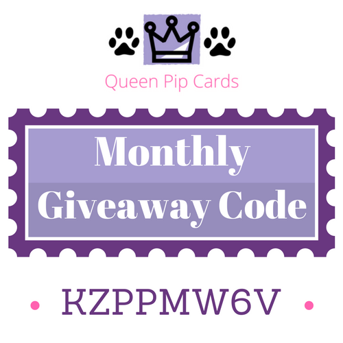November Monthly Giveaway Code