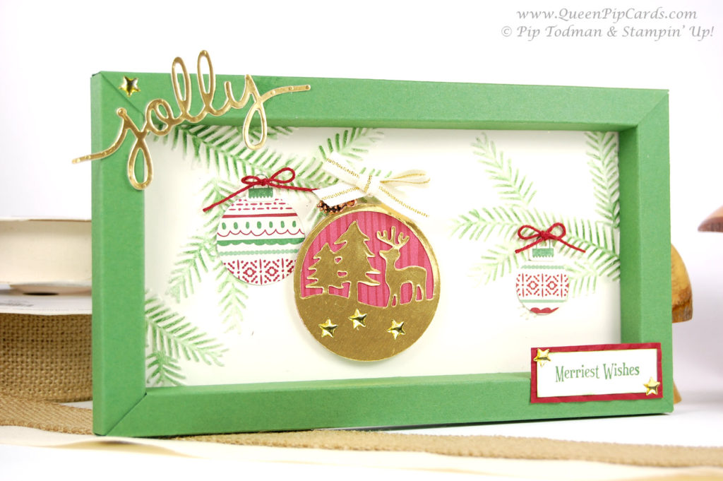 Countdown to Christmas 2016 Box Frame