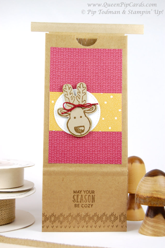 Gift Wrapping Ideas for Christmas Rudolph