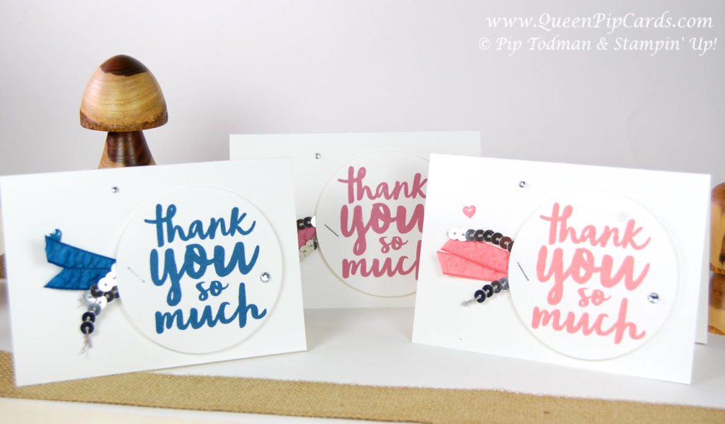 Five Thank You Card Ideas group shot 1