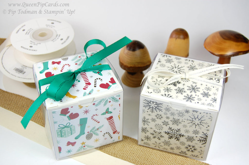 Gift Wrapping Ideas for Christmas Boxes top