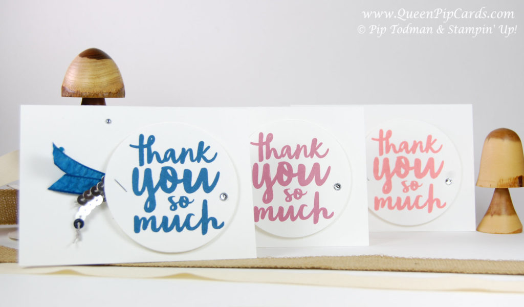 Five Thank You Card Ideas