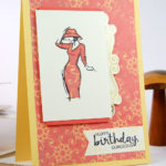 Handmade Card Ideas with Paper Piecing Large