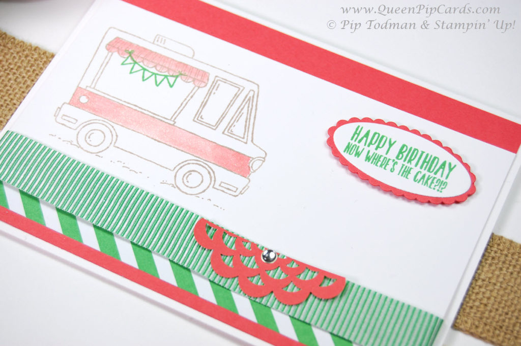 Tasty Trucks Sale-a-bration Stamp Set