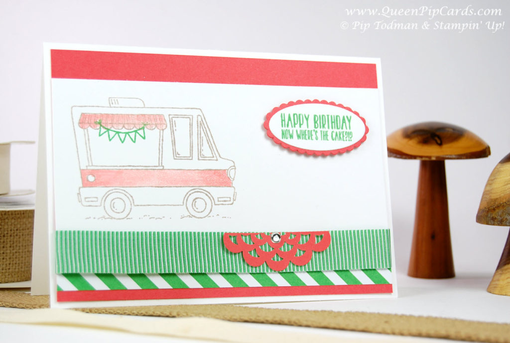 Tasty Trucks Sale-a-bration Stamp Set Large
