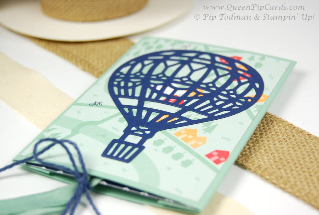 Make Your Own Double Slider Card Closed
