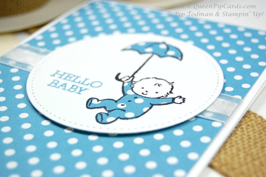 Cutest Card Idea Moon Baby Close