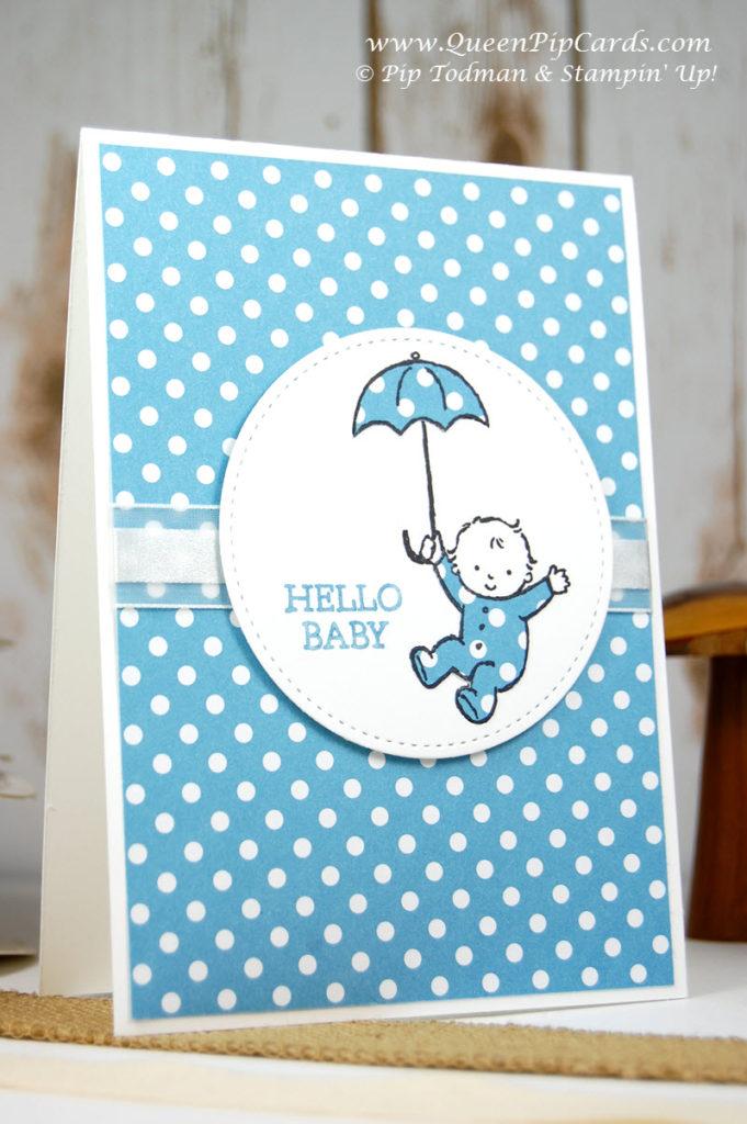 Cutest Card Idea Moon Baby Large