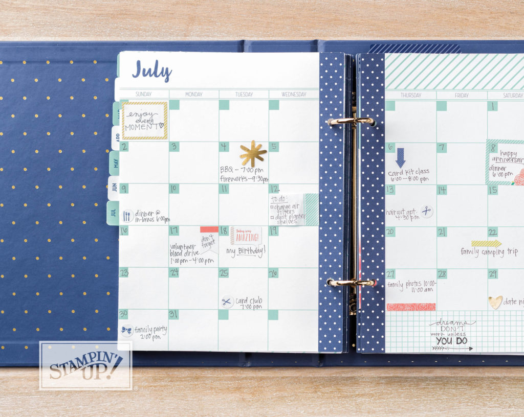 new Love Today Planner open