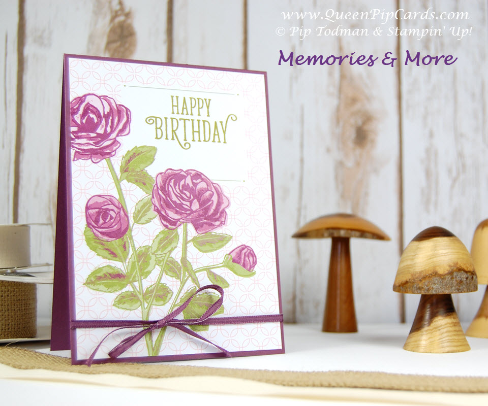 Memories and More Happy Birthday Card