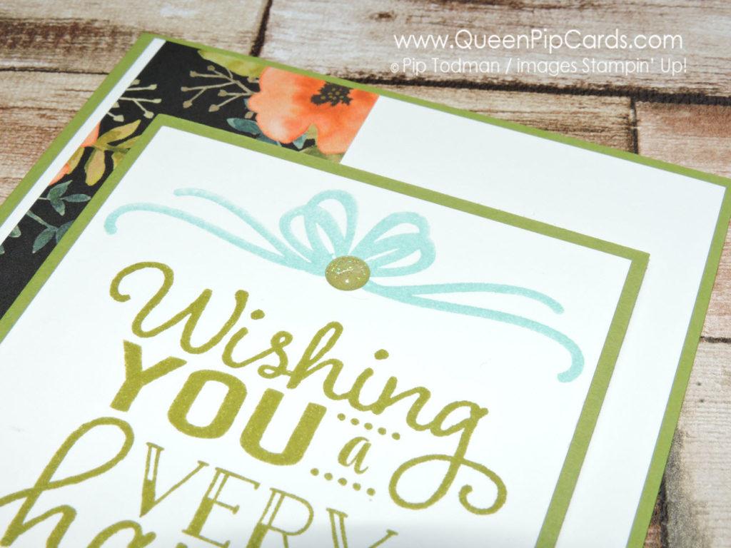 Another Big on Birthdays Card Idea Again C