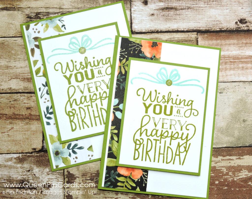 Another Big on Birthdays Card Idea Again L