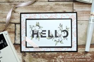 Floral Statements Hello