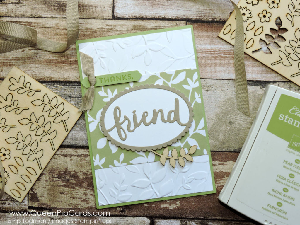 Lovely Words Thinlits - Friend