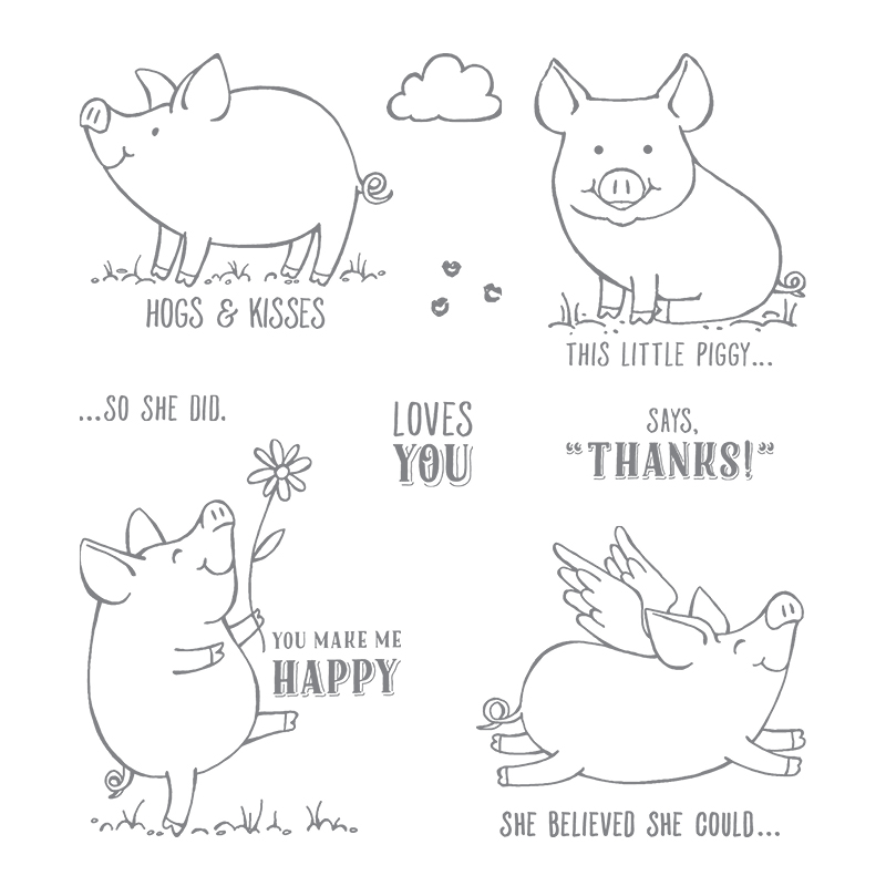 Is This Little Piggy Class In A Box for You? Stamp set