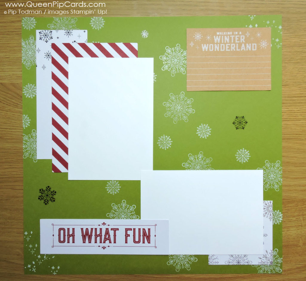 My way to achieve an easy Scrapbook Layout With Memories and More this Christmas. Using Merry Little Christmas card pack and Cheers to the Year stamps! Pip Todman Crafty Coach & Stampin' Up! Demonstrator in the UK Queen Pip Cards www.queenpipcards.com Facebook: fb.me/QueenPipCards #queenpipcards #stampinup #papercraft #inspiringyourcreativity