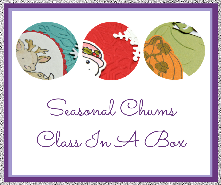 Seasonal Chums Class In A Box it here today! Bookings close 22nd Oct 2017. Grab your pre-order spot today! Pip Todman Queen Pip Cards UK Stampin' Up! Demonstrator www.queenpipcards.com fb.me/QueenPipCards #queenpipcards #stampinup #papercraft #inspiringyourcreativity