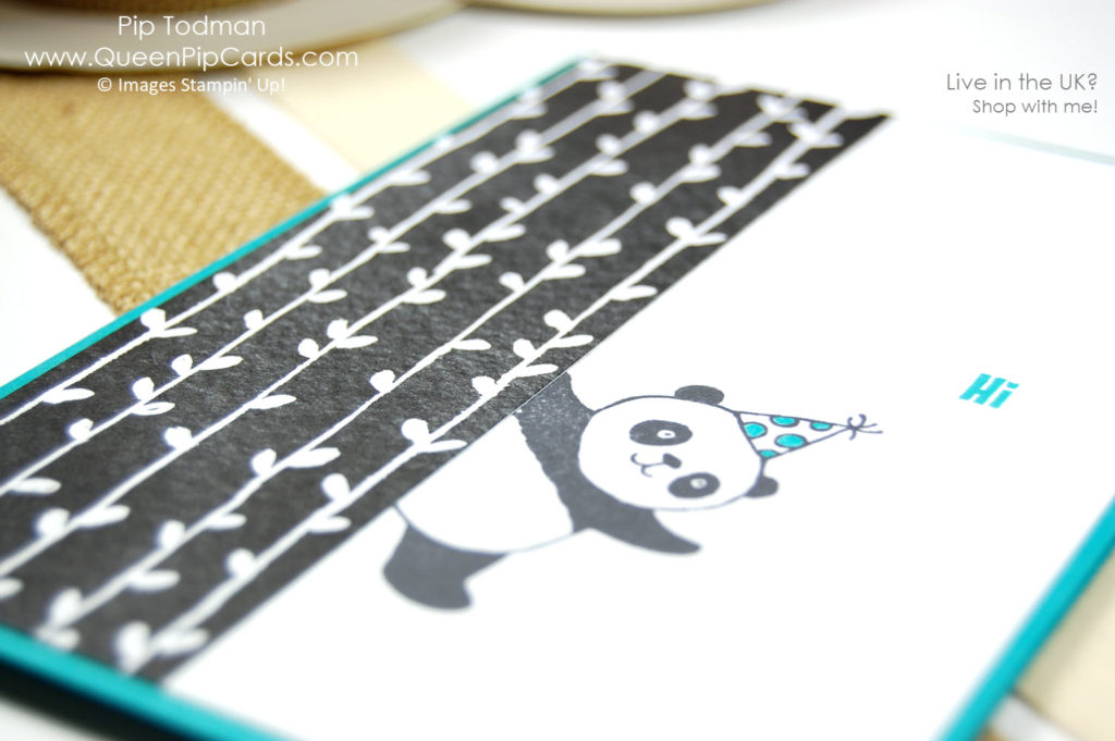 Are you a Party Panda too? I am loving the Party Panda Sale-a-bration set coming January 2018. Until then, Happy Christmas!   Pip Todman Crafty Coach & Stampin' Up! Demonstrator in the UK Queen Pip Cards www.queenpipcards.com Facebook: fb.me/QueenPipCards  #queenpipcards #stampinup #papercraft #inspiringyourcreativity