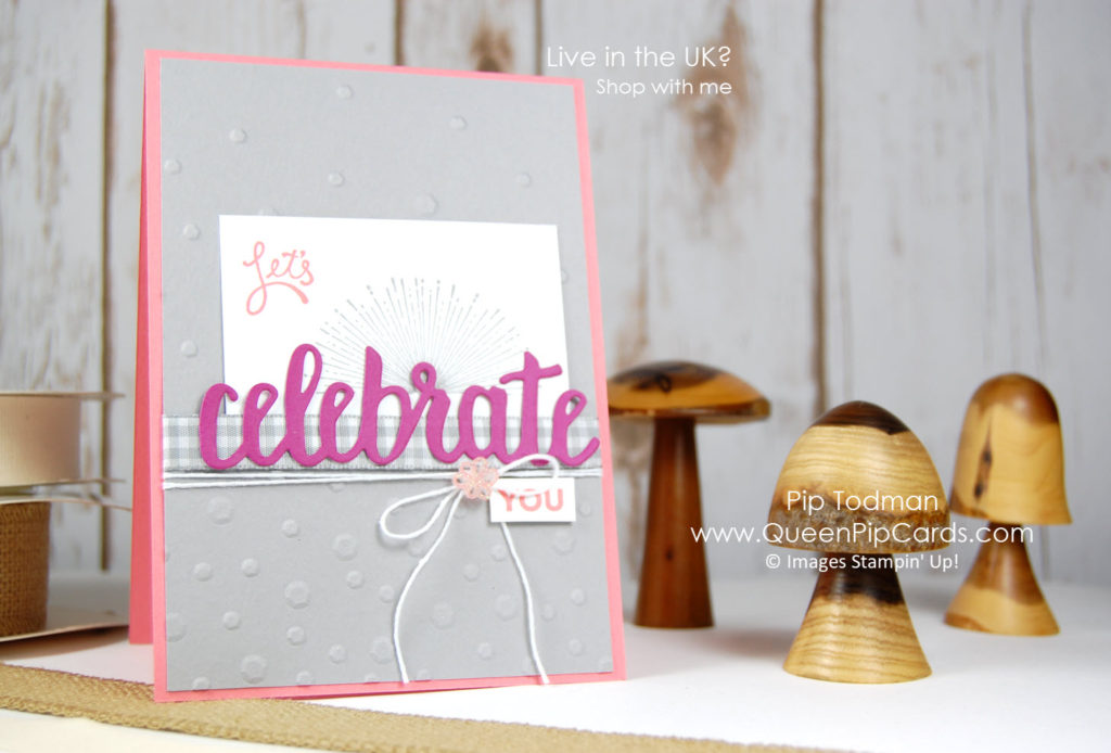 Celebrate You on the Alaska Achievers Blog Hop! Come and join us. Celebrate You and Amazing You are fabulous new Sale-a-bration offerings! Pip Todman Crafty Coach & Stampin' Up! Demonstrator in the UK Queen Pip Cards www.queenpipcards.com Facebook: fb.me/QueenPipCards #queenpipcards #stampinup #papercraft #inspiringyourcreativity