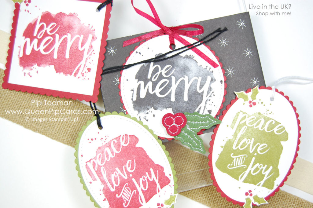 4 Tags to Copy with Every Good Wish and a bonus 4 card class video too! Happy Christmas! Pip Todman Crafty Coach & Stampin' Up! Demonstrator in the UK Queen Pip Cards www.queenpipcards.com Facebook: fb.me/QueenPipCards #queenpipcards #stampinup #papercraft #inspiringyourcreativity #StampinBlends